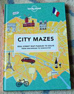 city mazes, book cover