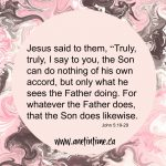 Jesus Shows Us God