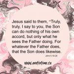 Jesus Shows Us God