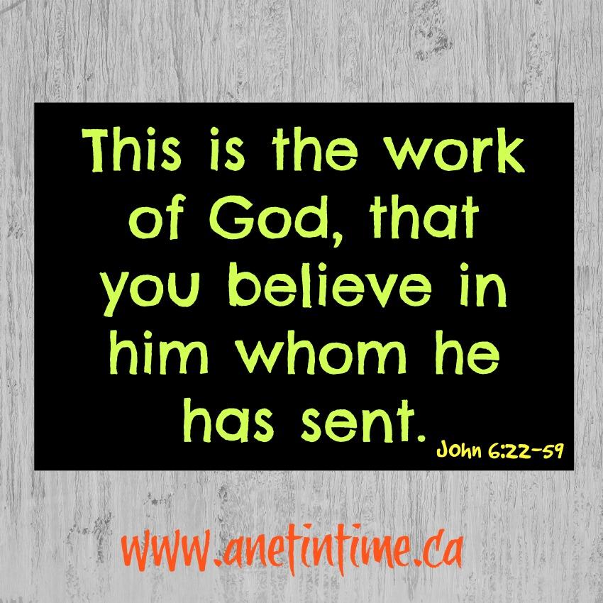 Devotional on John 6:22-59