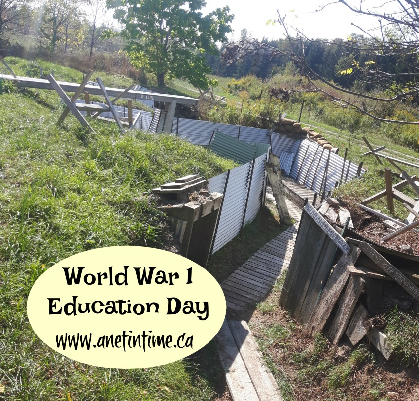 world war 1 education day