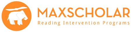 MaxScholar Reading Intervention Program logo