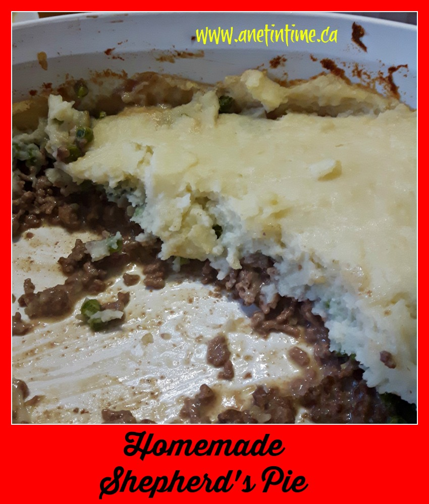 image of Homemade Shepherd's Pie