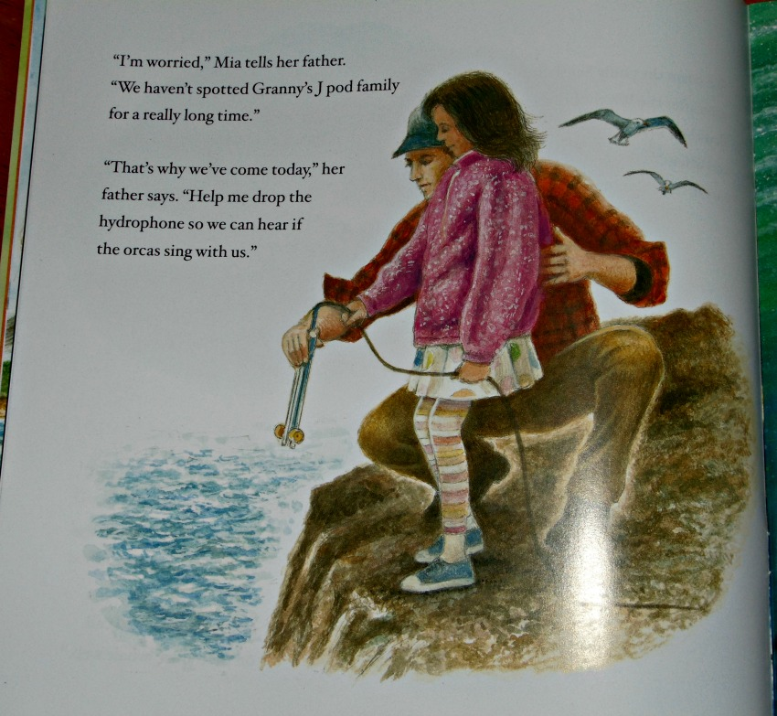 Wild Orca, page showing Mia