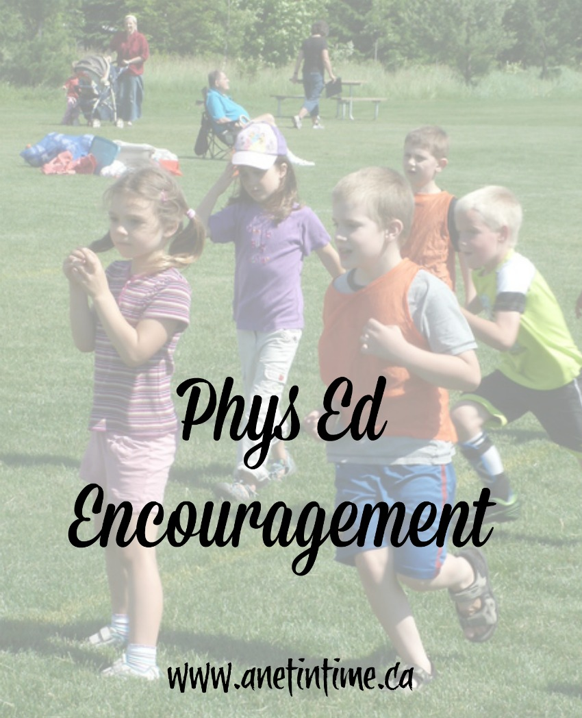 phys ed encouragement