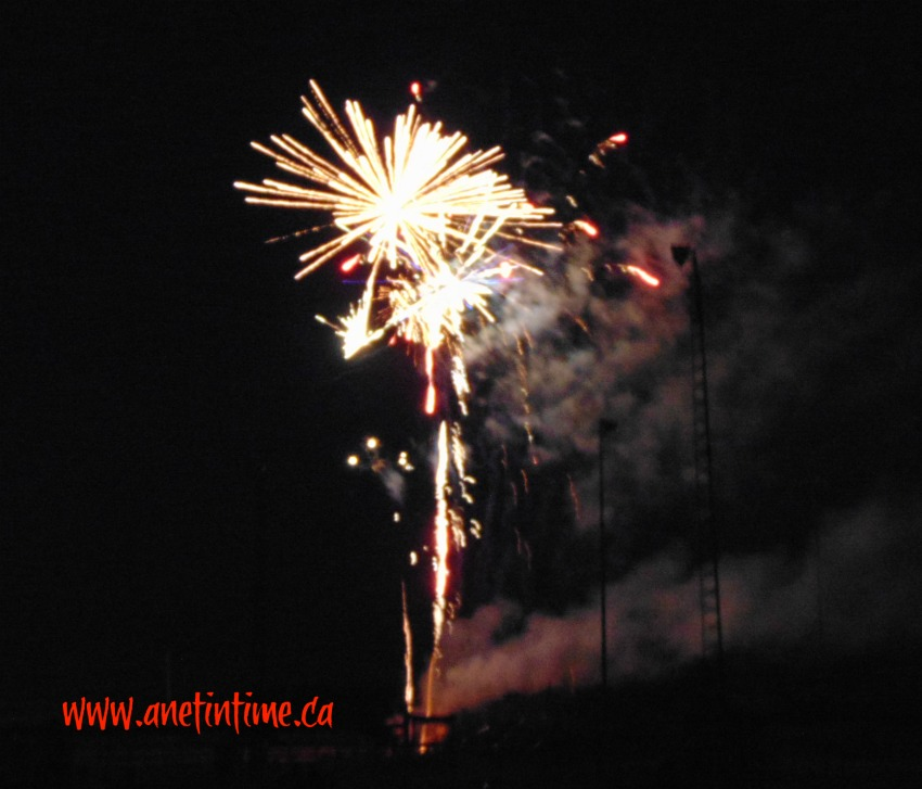 fireworks for Canada Day