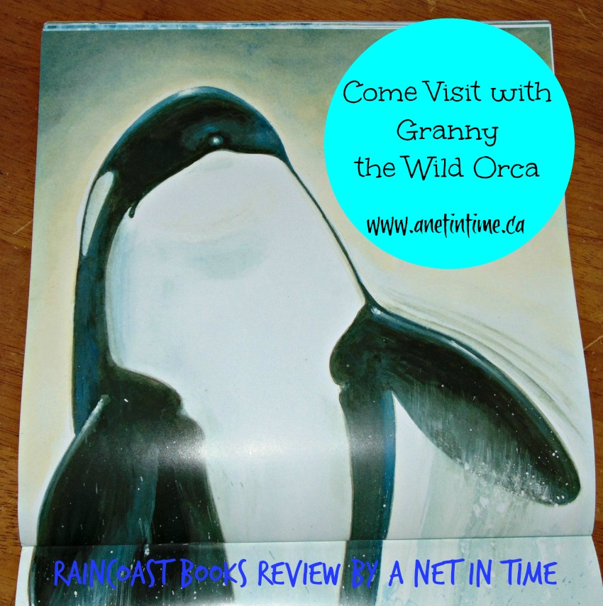 My Review of Book Wild Orca, picture of granny from the book