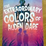The extraordinary colors of Auden Dare, book cover