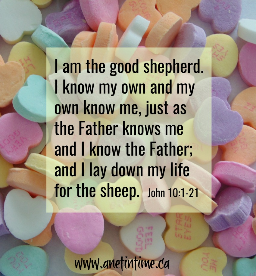 John 10:1-21 good shepherd lays down his life