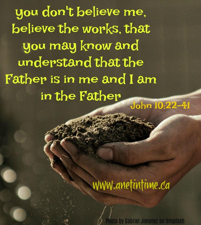 John 10:22-41