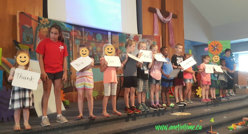 vacation bible school, maker verse