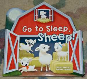 go to sleep sheep, book cover