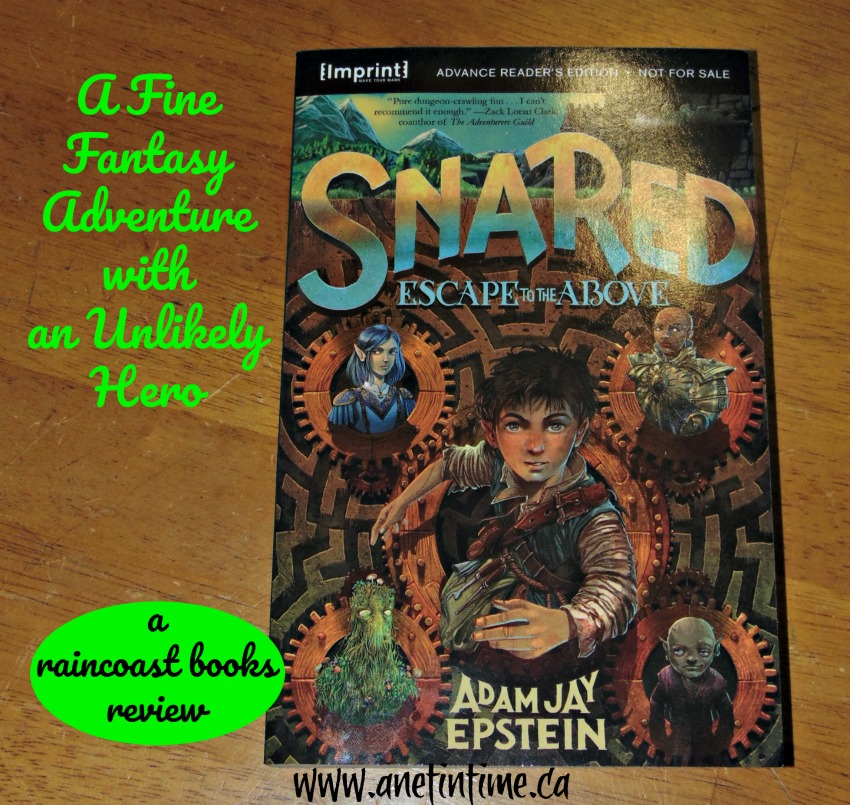 snared, my review image