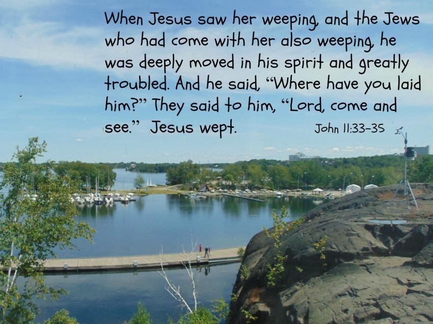 John 11:28-37