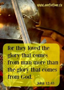 Whose Glory is More Important?