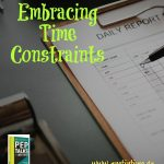 Embracing Time Constraints