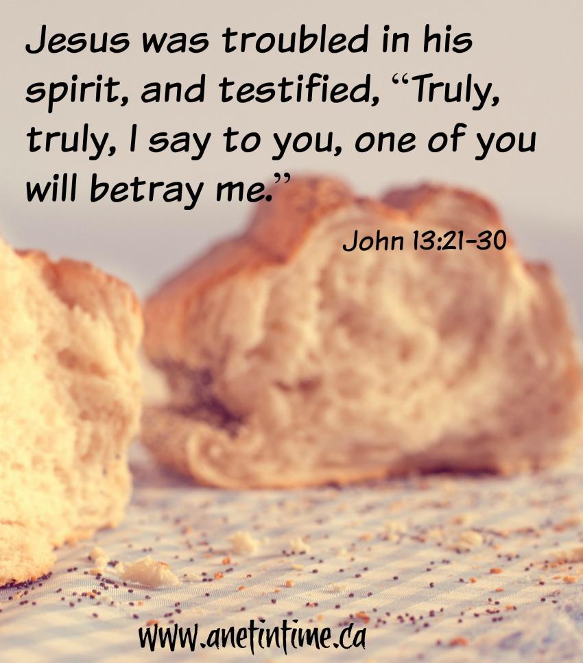 John 13:21-30