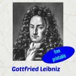 Gottfried Leibniz, philosopher