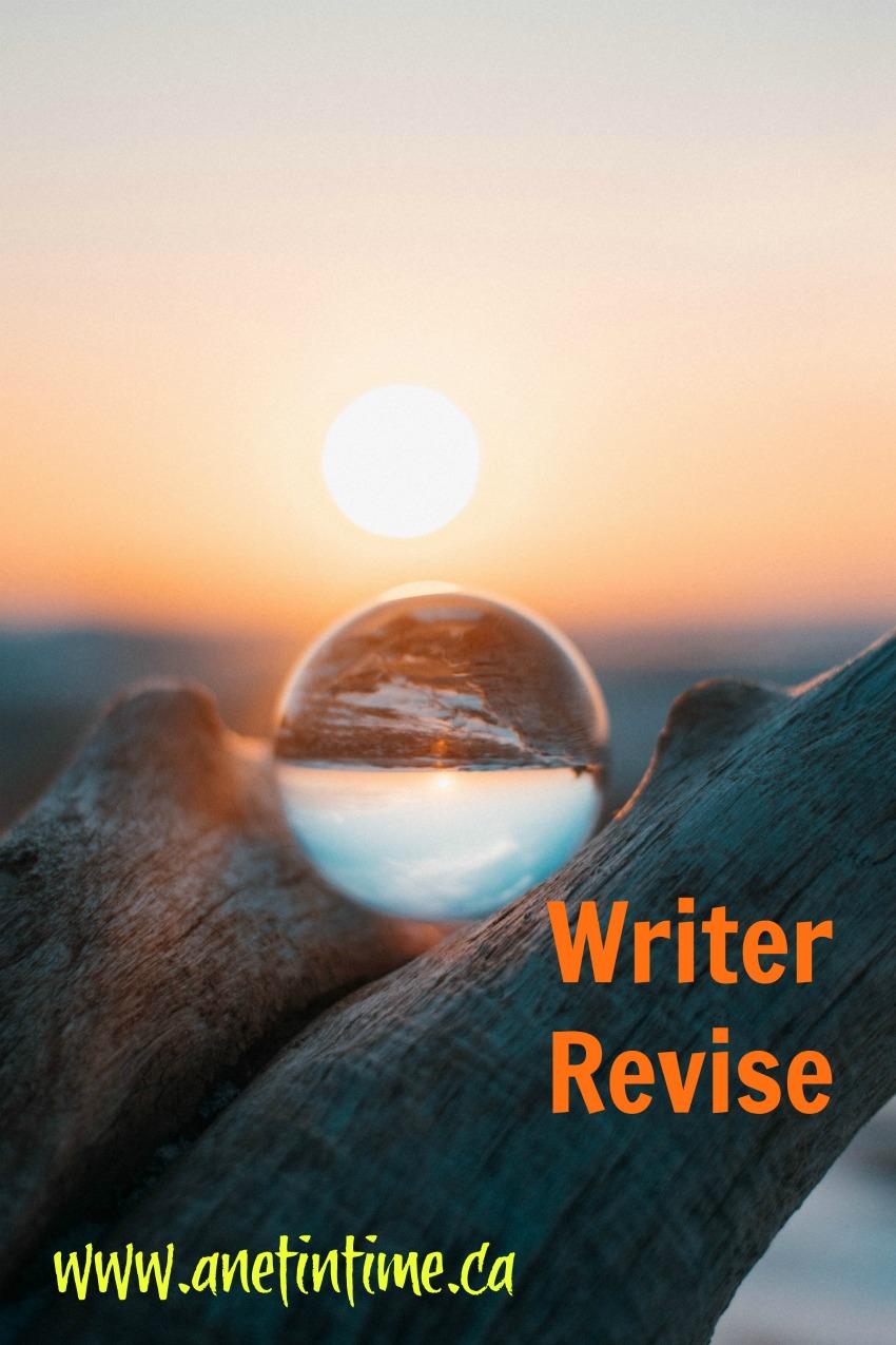 writer revise