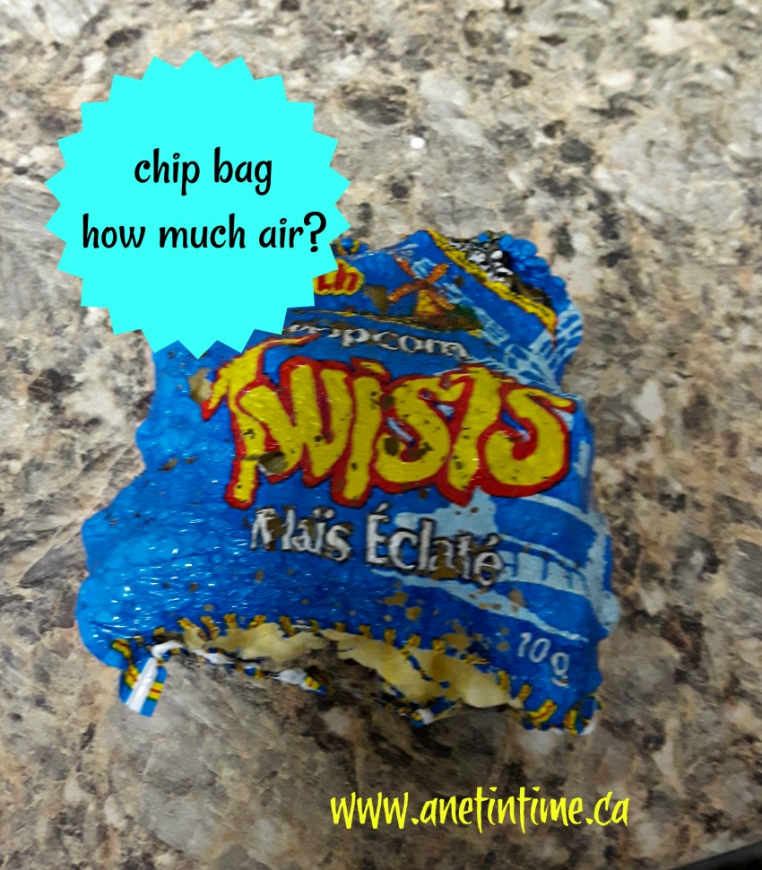 chip bag microwave