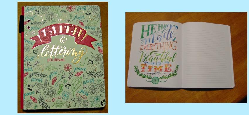 Faith & Lettering Journal