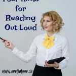 Four Hints for Reading Out Loud