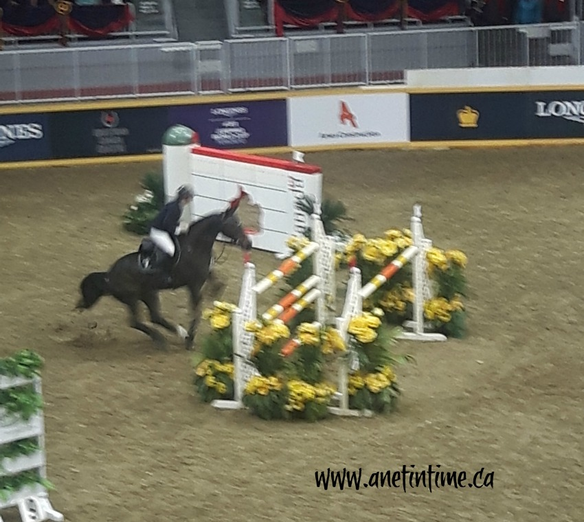 Horse Jumping at the Royal Winter Fair 2018
