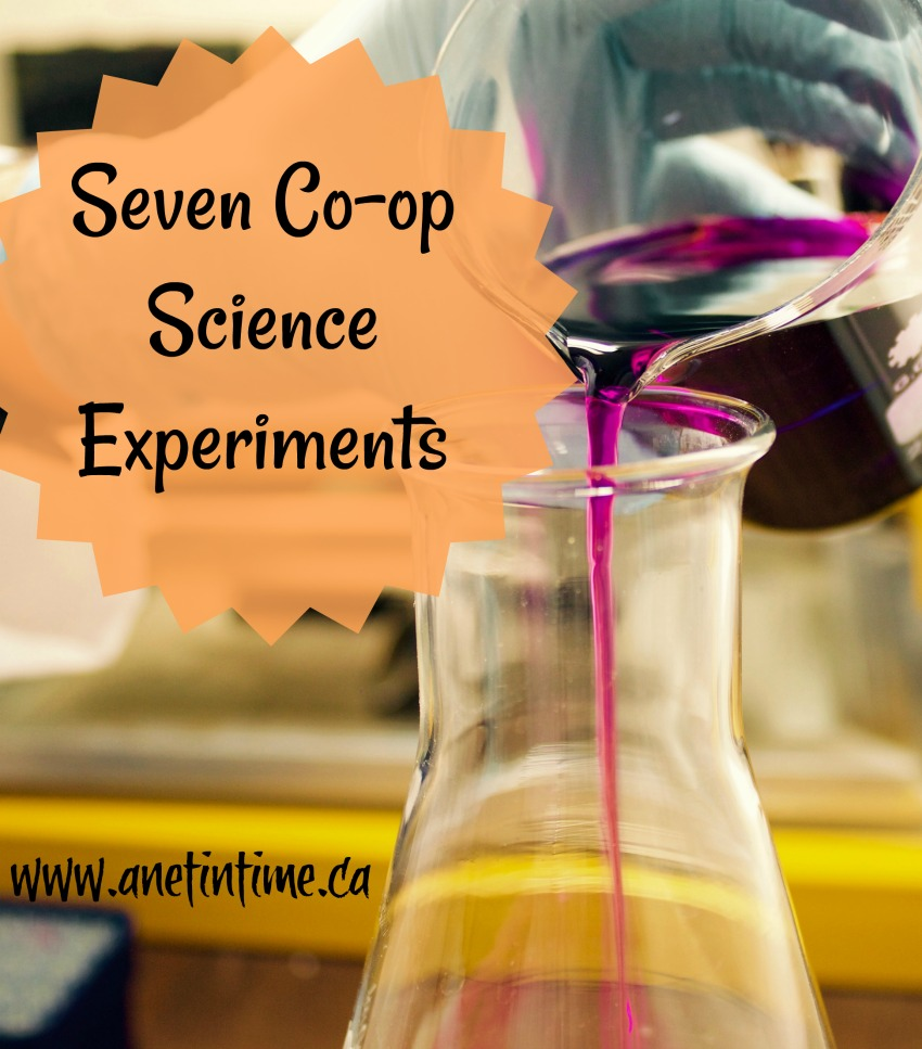 Seven Co-op science experiments