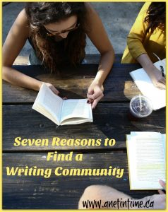 seven reasons to find a writing community
