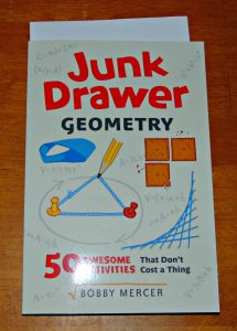 Junk Drawer Engineering: 25 Construction Challenges that don't cost a thing Bobby Mercer Chicago Review Press Ages 9 and up 208 pages Type: STEM Challenges, Trade Paperback Series: Junk Drawer Science