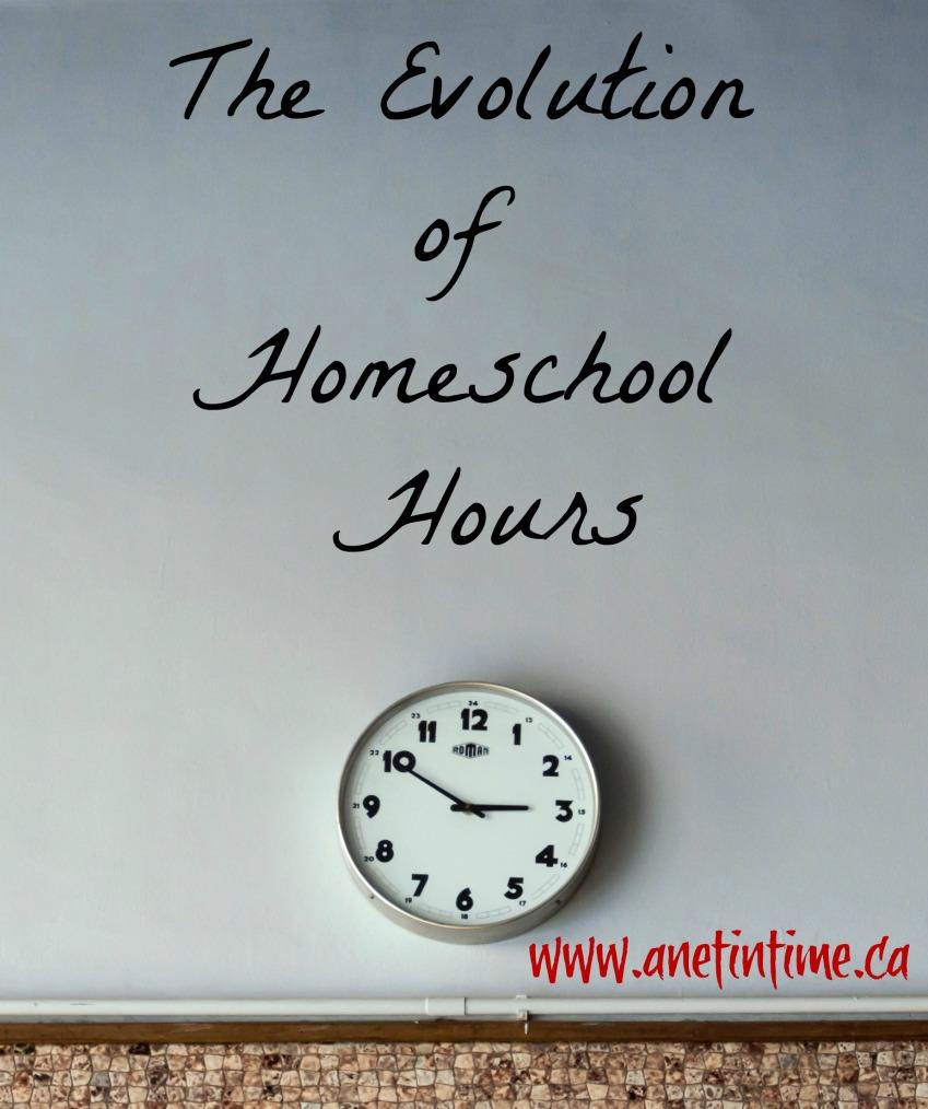 Evolution of Homeschool Hours