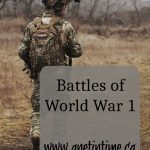 Battles of World War 1