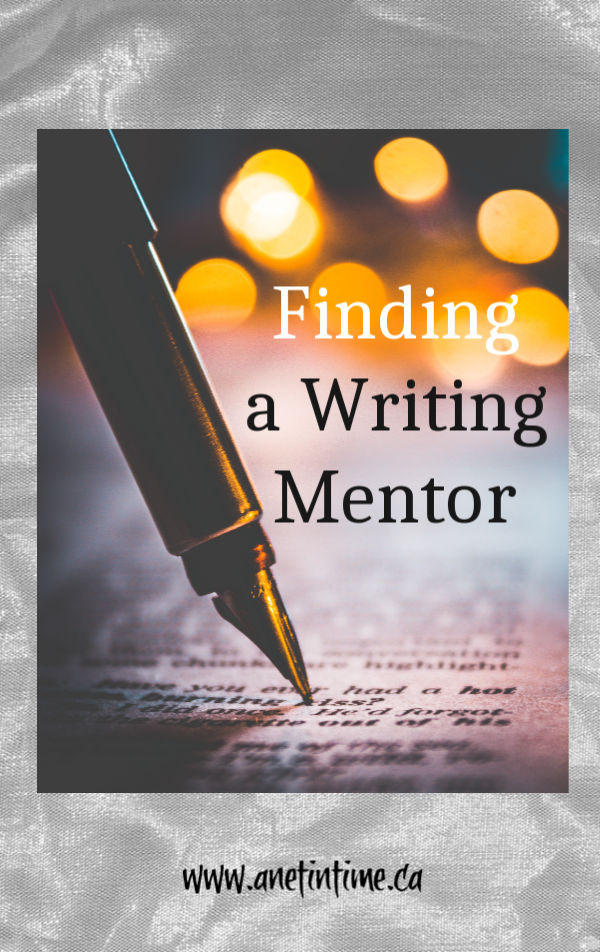 finding a writing mentor