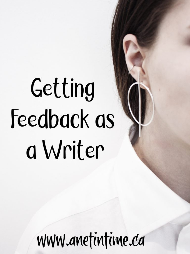 Getting Feedback as a Writer