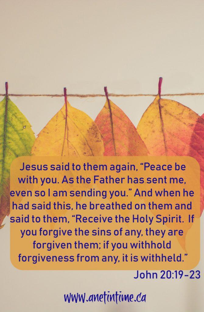 John 20:19-23