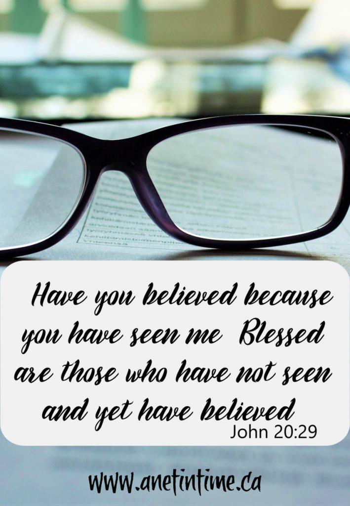 John 20:24-29