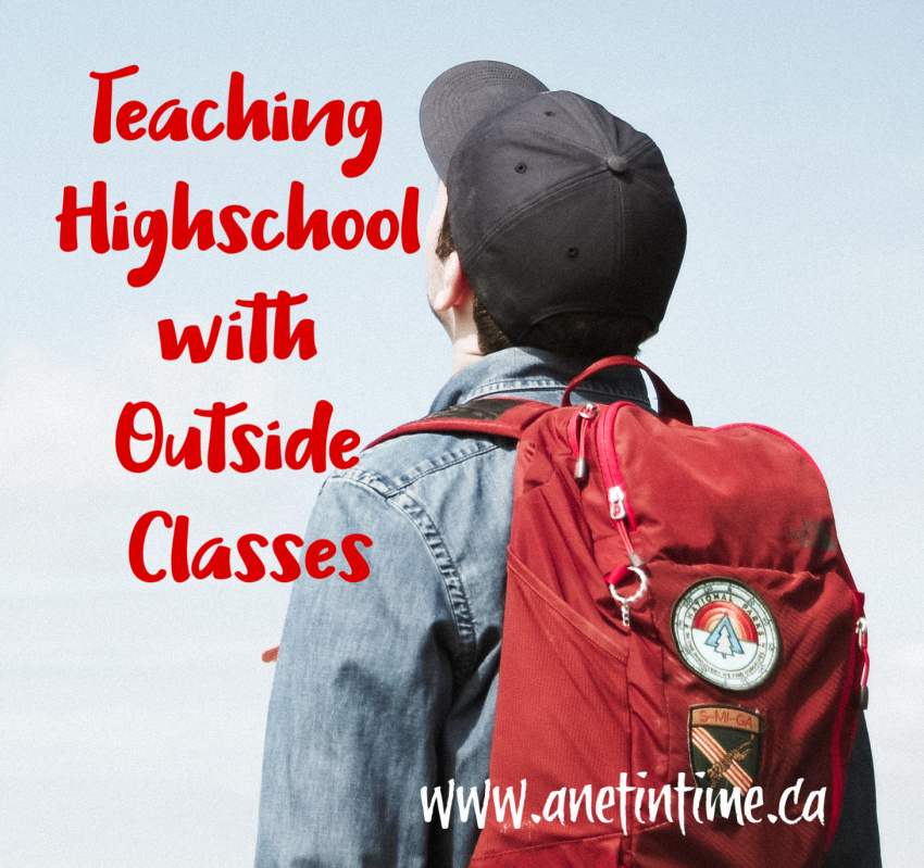 Teaching Highschool with Outside Classes