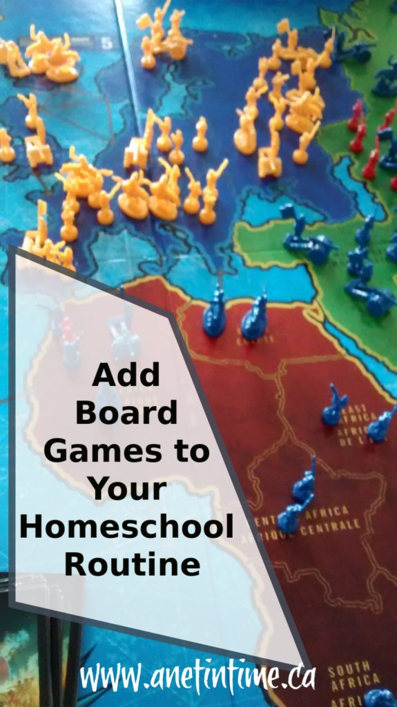 Add Board Games to Your Homeschool Routine