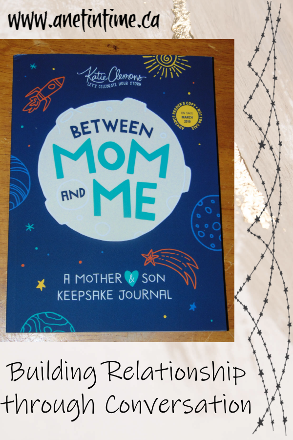Between Mom and Me: A mother & son keepsake journal