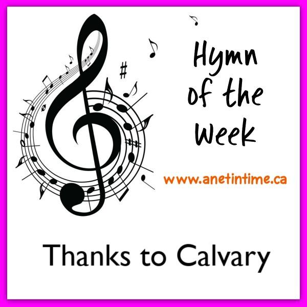Thanks to Calvary