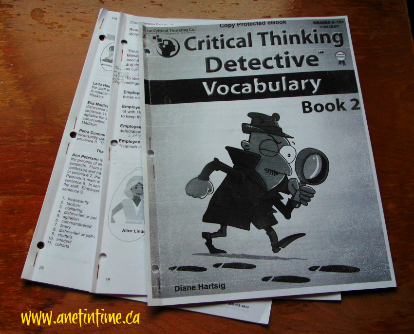 Critical Thinking Detective Vocabulary 2