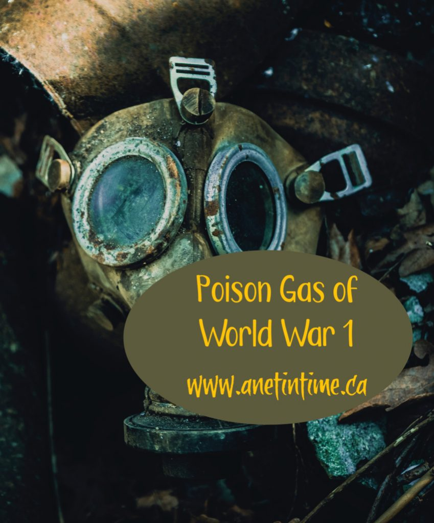 poison Gas of world war 1
