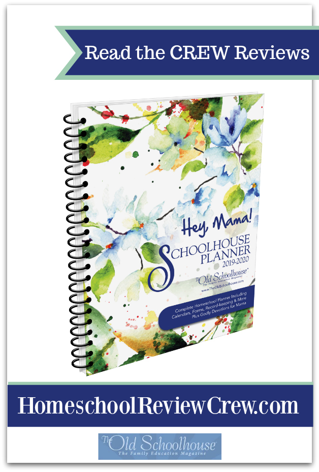 read the reviews HSRC Schoolhouse Planner
