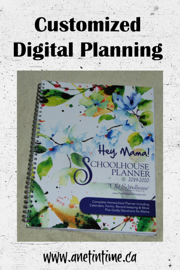 Hey, Mama! Homeschool Planner for 2019/20 Year
