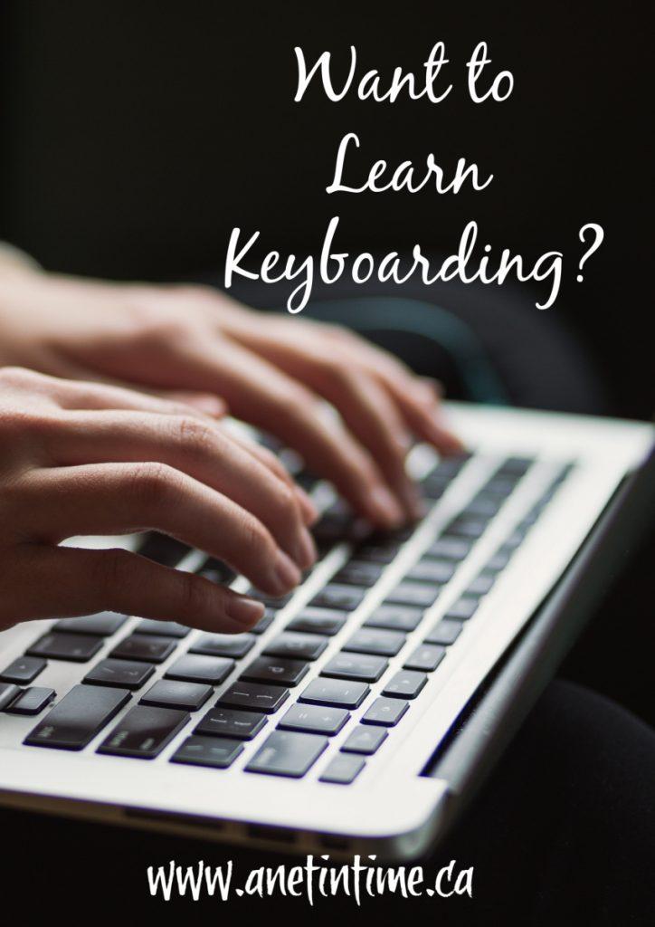 Want to Learn Keyboarding Skills?