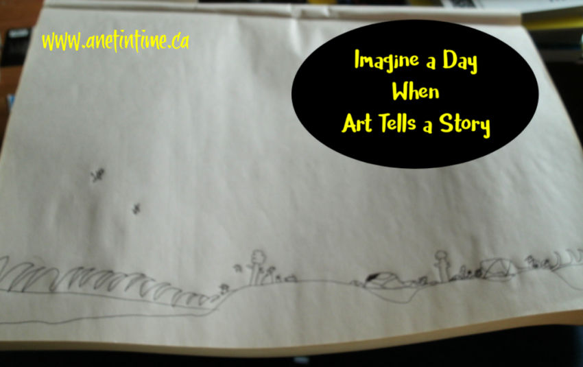 Imagine a day when art tells a story