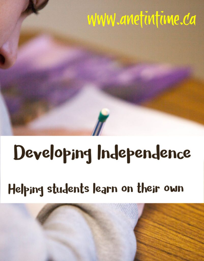 developing independence