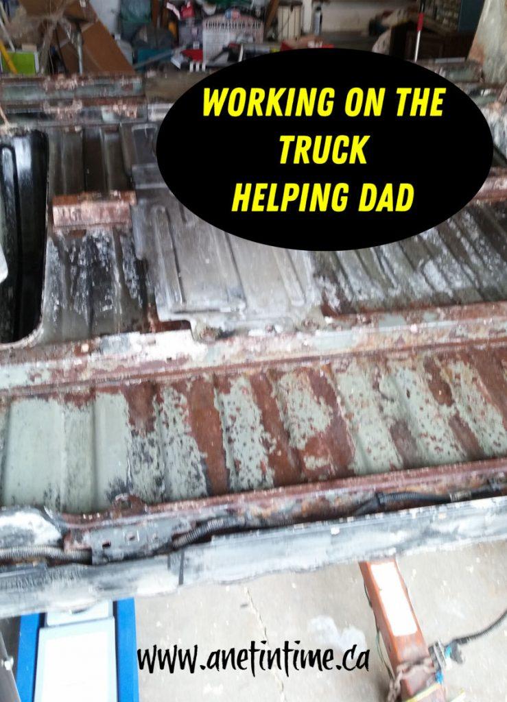 underside of truck