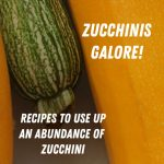 Zucchinis Galore!  Zucchini recipes for you.