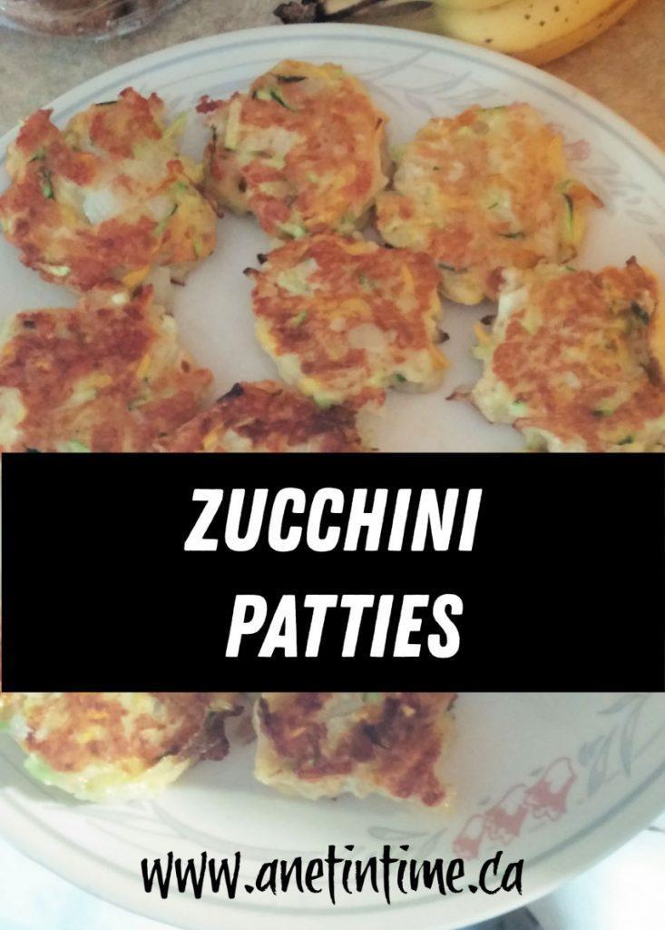 Zucchini patties
